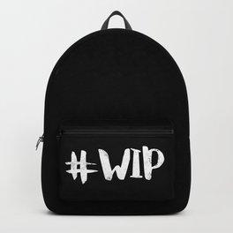 #WIP (White on Black) Backpack