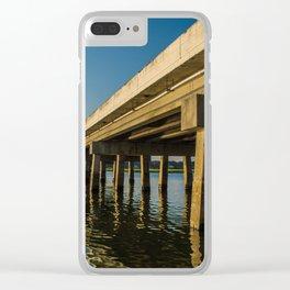 Under the Bridge Clear iPhone Case