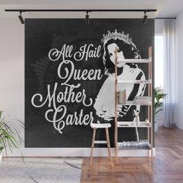 All Hail Queen Mother Carter (White) Wall Mural