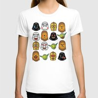 starwars T-shirts featuring StarWars Emojis by Xray T