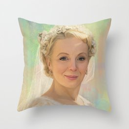 Mary Watson Throw Pillow