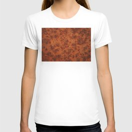 iron rust texture T-shirt