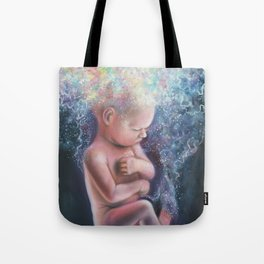 Birth of a Soul Tote Bag