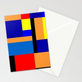 Mondrian #35 Stationery Cards