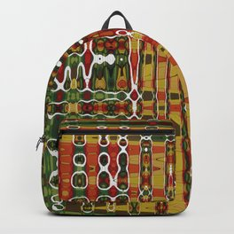 Abstract Art Work Geometic Backpack