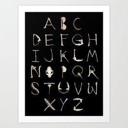 Alphadeath Art Print