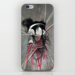 I love music iPhone Skin