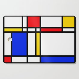 Mondrian Cutting Board