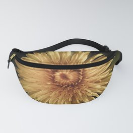 DESATURATED YELLOW DANDELION FLOWER Fanny Pack