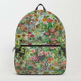 Garden Cats Backpack