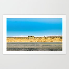 Alone In The Desert Art Print