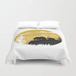 Bear Valley Duvet Cover