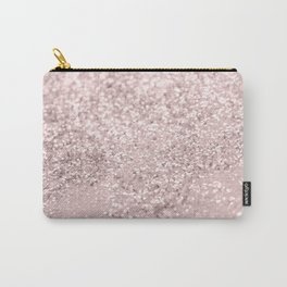 Blush Glitter Dream #1 #shiny #decor #art #society6 Carry-All Pouch