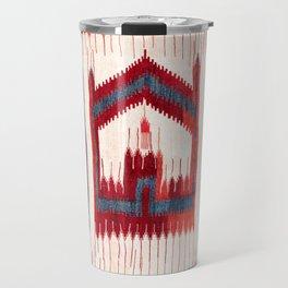 Karapinar  Antique Turkish Kilim Saf Print Travel Mug