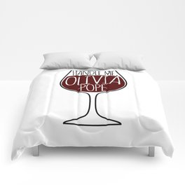 Handle Me, Olivia Pope! Comforters