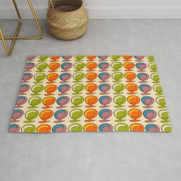 Retro Chair Pearl #atomicage Rug
