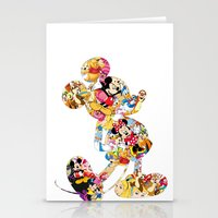 mickey Stationery Cards featuring mickey by acorn