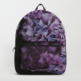 pink and purple flowers - hydrangea #2 Backpack