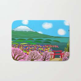 Fujisan Bath Mat