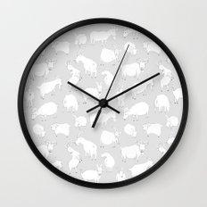 Charity fundraiser - Grey Goats Wall Clock