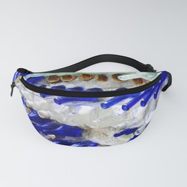 Colored Glass Bottle Wall 1 Fanny Pack