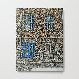 crystalized facade Metal Print