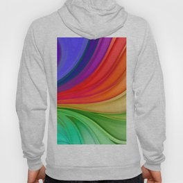 Abstract Rainbow Background Hoody