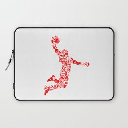 Basketball RED Laptop Sleeve