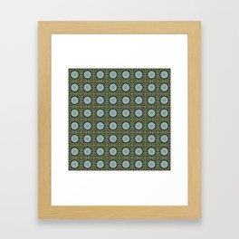 Hankie lenses Framed Art Print