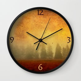 Fire of Life Wall Clock