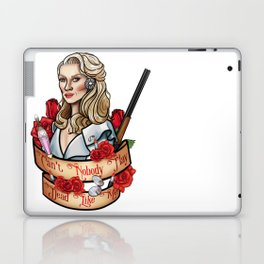 Can't Nobody Play Dead Like Me Laptop & iPad Skin