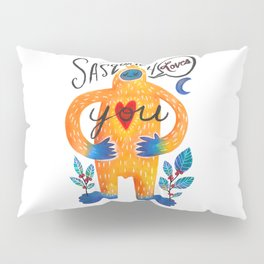 Sasquatch Loves You Pillow Sham