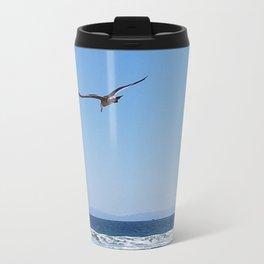 Soaring seagull Travel Mug