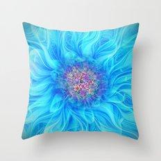 Fractal Flower 2 Throw Pillow