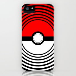 A Pokeball Within a Pokeball iPhone Case