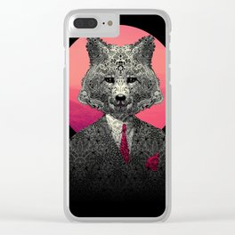 VIF - Very Important Fox Clear iPhone Case