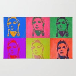 Edie Sedgwick Stencil Rug