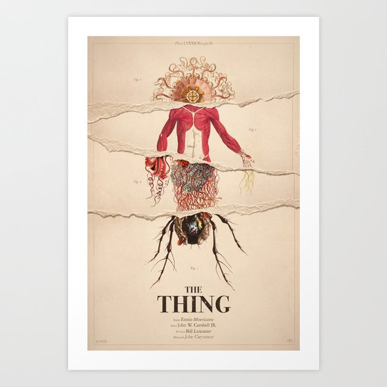 The Thing Alternative Film Poster by dgrahamdesign