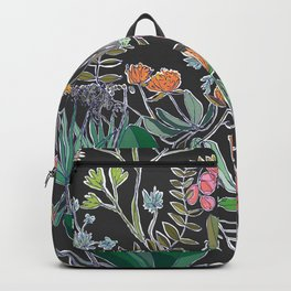 Summer Garden at Midnight Backpack