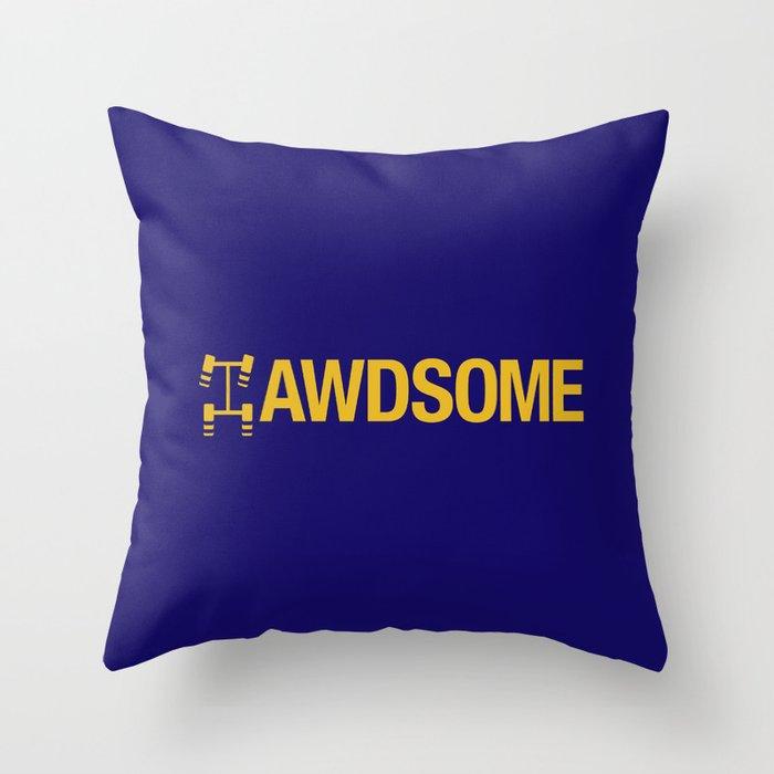 AWDSOME v1 HQvector Throw Pillow