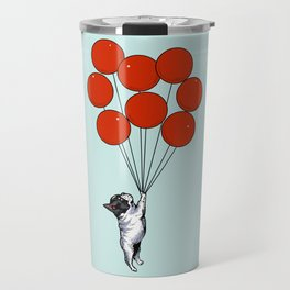 I Believe I Can Fly French Bulldog Travel Mug