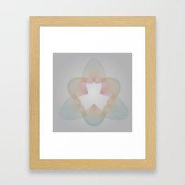 Roux / Diffuse Loop Framed Art Print
