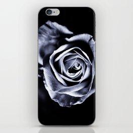 Silver Petals iPhone Skin