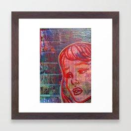 scarlettt Framed Art Print