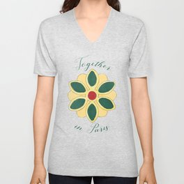 Together in Paris Unisex V-Neck