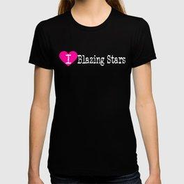 I Heart Blazing Stars | Love Blazing Stars - Gayfeather T-shirt
