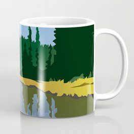 Junction Lake Coffee Mug