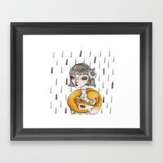Foxie Framed Art Print