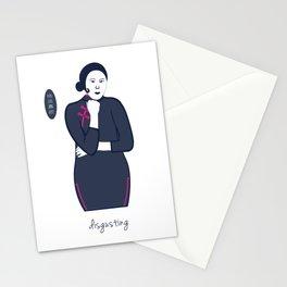 Cheongsam illustration disgusting Stationery Cards