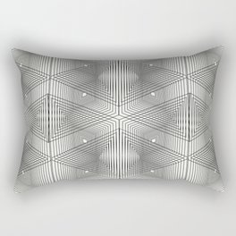 Optical Vibrations in Black and White Rectangular Pillow